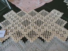 Hardanger embroidery (E) Elena Mussons