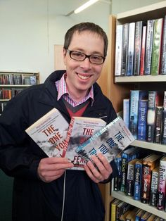 I have them on my kindle but want to get the actual books:) This is the writer, Paul Pilkington