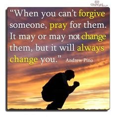 when you can't forgive...
