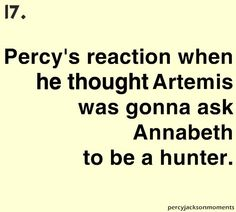 When Percy realizes he really really really likes Annabeth