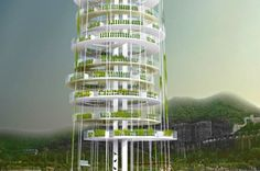 Dynamic Vertical Networks Could Provide More Space for Growing Food in China | Inhabitat - Sustainable Design Innovation, Eco Architecture, Green Building