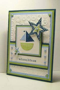 Baby Gift Card Holder using Stampin Up Nursery Necessities