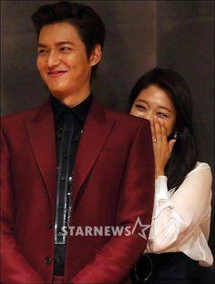 Min Ho and Park Shin Hye. awww, Shin Hye is so cute Min Ho and Park Shin Hye. awww, Shin Hye is so cute Heirs Korean Drama, The Heirs, Korean Dramas, Korean Actresses, Korean Actors, Actors & Actresses, Kim Bok Joo, Lee Min Ho Kdrama, Korean Tv Series