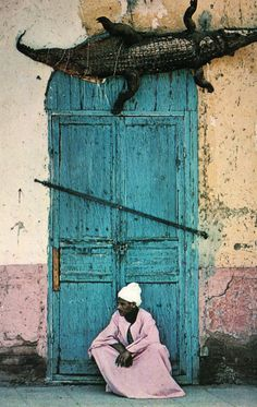 I HOPE THAT TOP DOOR TRIM IS NOT ALIVE!!…..IF IT IS SOMEONE  BETTER ALERT THAT GUY IN THE PINK ROBE…..HE MIGHT NOT WANT TO SIT THERE FOR TOO LONG…………ccp
