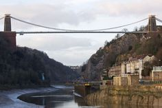 River Avon at low tide in Bristol***