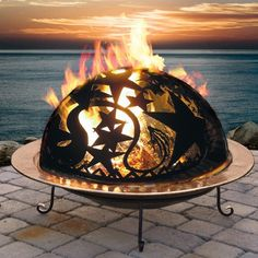 Large Orion Fire Dome would look fab on the beach...