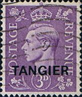 Morocco Agencies TANGIER 1949 SG 263 King George VI Fine Used SG 263 Scott 533 Other British Commonwealth stamps here