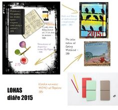 The Best of LOHAS: Diáře 2015 Good Things, Map, Let It Be, Location Map, Maps