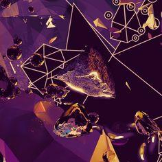 Amphitrite & Poseidon – INSgraphizm remix by Zoltán Szalay, via Behance