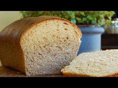 Whole Wheat Milk Bread Loaf Bread Recipes, Cake Recipes, Cooking Recipes, Whole Wheat Bread, Pan Bread, Dinner Rolls, Sin Gluten, Coffee Cake, Bakery