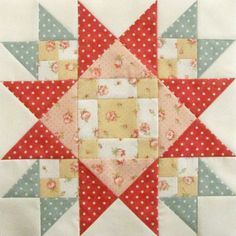 Mystery Block of the Month  - Pretty by Hand -