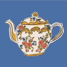 It's teapot weather today
