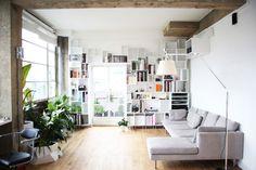Caroline Issa's light-filled London loft