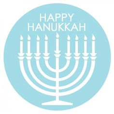 Free Happy #Hanukkah Printable Tags
