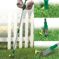JB6504 - No Bend Weed Remover - Just push, twist and out come the weeds!