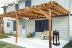 build a patio cover instructions