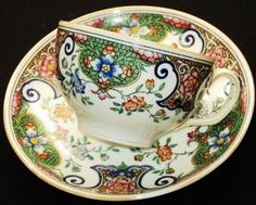 Minton Antique England Eastern Paisley Tea Cup and Saucer | eBay