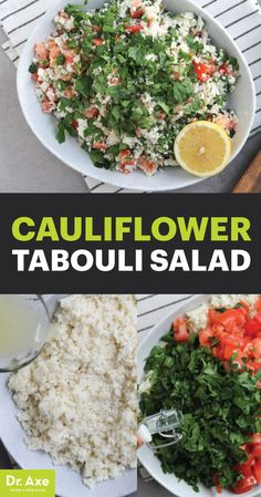 Add more cauliflower to your diet with this Middle Eastern Tabouli Salad