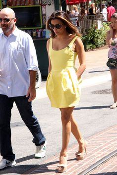 Eva Longoria Photos: Eva Longoria and Mario Lopez on 'Extra'