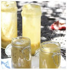 Best Ever Homemade Mustard Fruit Dressing, Homemade Mustard, Homemade Ketchup, Compound Butter, Dry Rubs, White Wine Vinegar, Kitchen Recipes, Mayonnaise, Easy Cooking