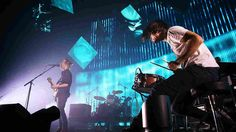 i   Thom Yorke, Phil Selway and Jonny Greenwood performing live in Sydney. Radiohead just released a new album,  A Moon Shaped Pool.    Mark Metcalfe/Getty I...