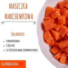 3 maseczki poprawiające cerę. Przygotujesz je w domu przed Sylwestrem! Cantaloupe, Sweet Potato, Mango, Skin Care, Fruit, Vegetables, Health, Food, Diy
