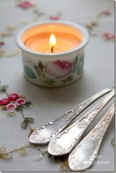 Little tea candle