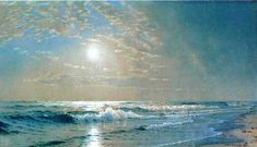 morning at Atlantic City by Alfred Thompson Bricher