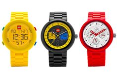 LEGO Watch: Self-Constructed Toy Watches