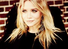 need those earrings. and to be an olsen