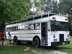 school bus campers for sale | ... Classics...1951 Ford F-5 18 Passenger Bus RV Conversion For ...