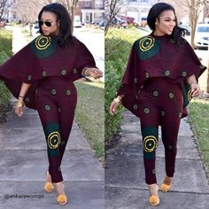 Another Saturday to attend weddings. Assuming you aren't attending any wedding this Saturday like myself, gather around let's look through these asoebi styles African Fashion Ankara, Latest African Fashion Dresses, African Dresses For Women, African Print Fashion, Africa Fashion, African Attire, African Print Jumpsuit, African Print Clothing, African Shirts