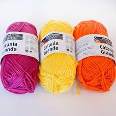 Catania Grande -lanka väreissä syklaami, omena, kivi, pellava, appelsiini, orkidea, kaneli