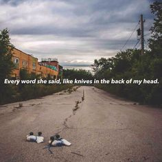 """'Over and over she said:""""I'm just not cut for the weather"""" Knuckle Puck - No Good"""