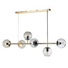 Buy Bolia Orb Pendant Matt Antique Brass online with Houseology's Price Promise. Orb Pendant Light, Pendant Lamp, Pendant Lighting, Chandelier Lamp, Ceiling Lamp, Ceiling Lights, Luminaire Design, Lamp Design, Kids Lamps