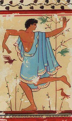 ET- 0 - Der Narr - Tarocchi Etruschi / Etruscan Tarot / Etruskisches Tarot