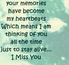 This is my truth...trying to stay alive...I miss you with all my heart & soul SON.... 11/7/85 - 6/23/14