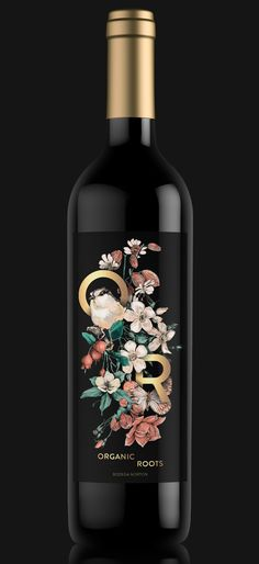 Organic Roots - Wine Label Proposal on Behance