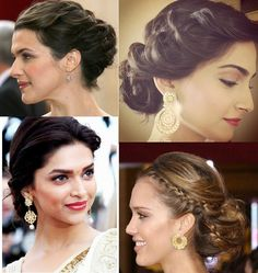 Indian Wedding Hairstyles – South Asian Life
