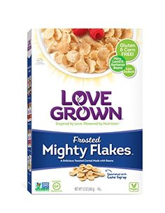 Love Grown Mighty Flakes Frosted 12 Ounce >>> To view further for this item, visit the image link.