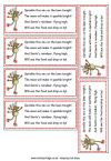 Reindeer food sprinkle printout. Make your own reindeer food for selves and give to others