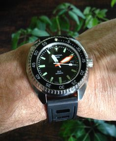 "Certina DS 3 Reissue - real ""turtle""."