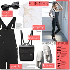 Summer Must Haves! by naomimjc on Polyvore featuring moda, Zimmermann, Kendall & Kylie, Frame Denim, Abercrombie & Fitch and The Cambridge Satchel Company