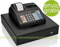 Caja Registradora Olivetti ECR 7700 LD ECO NEGRA - Cajon Grande 4 billeteros tienda eBay de cajasregistradoras.com