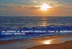 Haz el momento perfecto