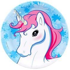 Enchanted Unicorn Dinner Plates