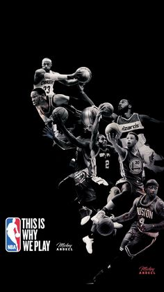 THIS IS WHY WE PLAY NBA Poster #wmcskills