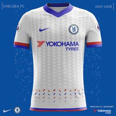 Chelsea Nike Kits (2017-2018) on Behance