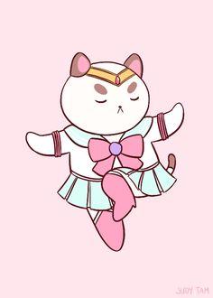 Fyeah Bee & Puppycat — judytam: Sailor PuppyCat. He's beauty, he's...