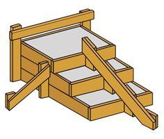28 besten building things bauen bilder auf pinterest terrasse treppe und ziegel. Black Bedroom Furniture Sets. Home Design Ideas